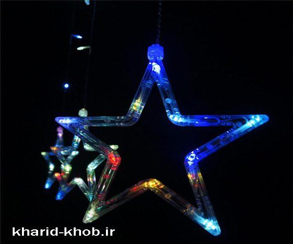 ریسه های ستاره رنگارنگ