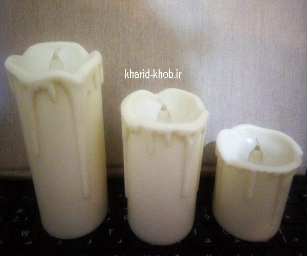 شمع ال ای دی بدون دود