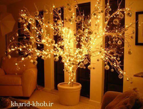 نورپردازی درختان ویژه کریسمس2020
