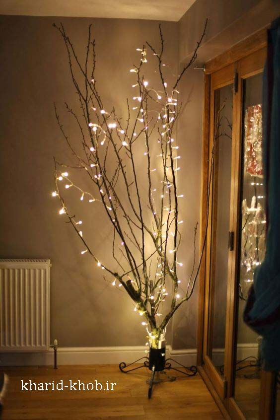 آموزش ساخت درخچه نوری در منزل