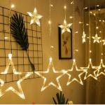 آموزش نحوه نصب ریسه پرده ستاره