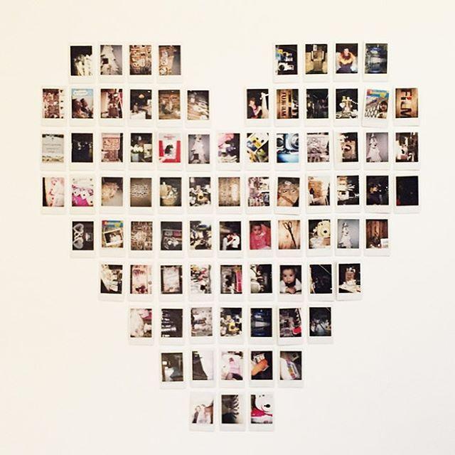 طرح تابلو قلب با عکس