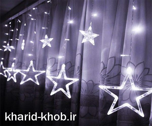 ریسه ستاره پرده