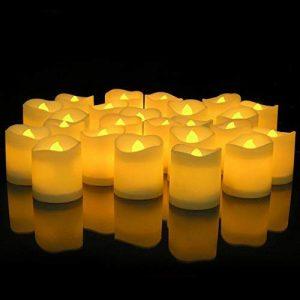 شمع پایه بلند ال ای دی