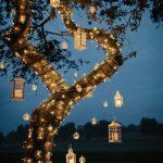 ایده هایی الهام بخش برای نورپردازی تراس، باغچه و بالکن خانه+عکس